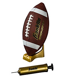 Grip-Rite Pump & Tee Football Set-Official
