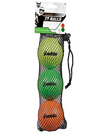 Franklin Sports Youth Lacrosse Balls-3 Pack