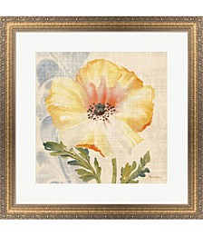 Watercolor Poppies II by Pamela Gladding Framed Art