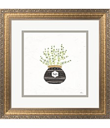 Fine Herbs VI by Janelle Penner Framed Art