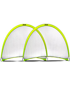 Franklin Sports Pop-Up Dome Shaped Goals-6' X 4' (2 Pack)