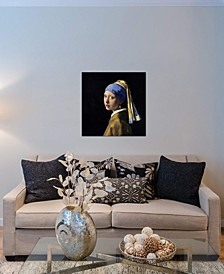 """Girl with a Pearl Earring"" by Johannes Vermeer Gallery-Wrapped Canvas Print"