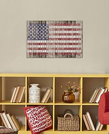 """American Flag I"" by Diego Tirigall Gallery-Wrapped Canvas Print"