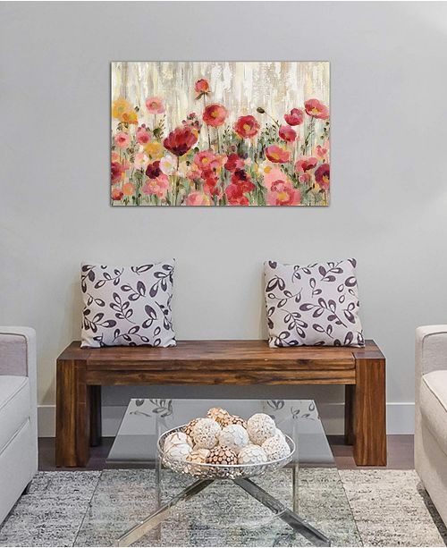 "iCanvas ""Sprinkled Flowers"" by Silvia Vassileva Gallery-Wrapped Canvas Print (26 x 40 x 0.75)"