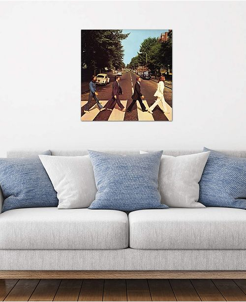 """iCanvas """"Abbey Road"""" by Radio Days Gallery-Wrapped Canvas Print (18 x 18 x 0.75)"""