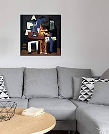 """""""Three Musicians"""" by Pablo Picasso Gallery-Wrapped Canvas Print (26 x 26 x 0.75)"""