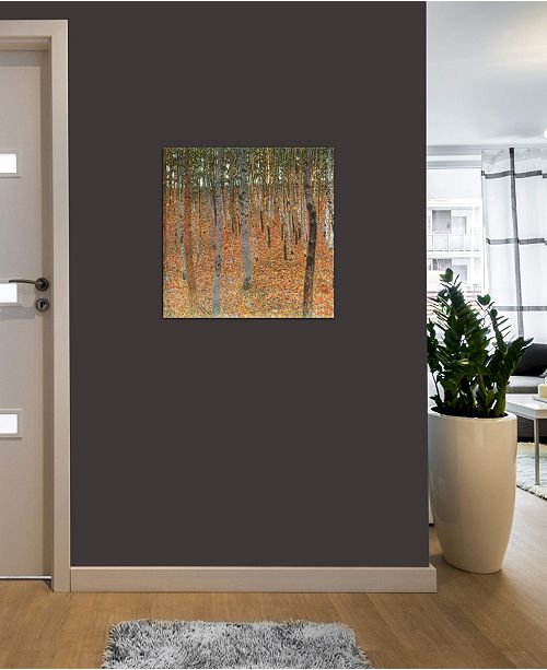"iCanvas ""Forest of Beech Trees"" by Gustav Klimt Gallery-Wrapped Canvas Print (18 x 18 x 0.75)"