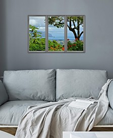 "iCanvas ""Hawaii Window View"" Gallery-Wrapped Canvas Print (18 x 26 x 0.75)"