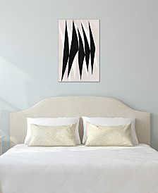 "iCanvas ""Modern Art - Zebra Print Tribal Paint"" by 5by5collective Gallery-Wrapped Canvas Print (26 x 18 x 0.75)"