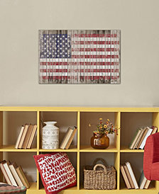 "iCanvas ""American Flag I"" by Diego Tirigall Gallery-Wrapped Canvas Print"