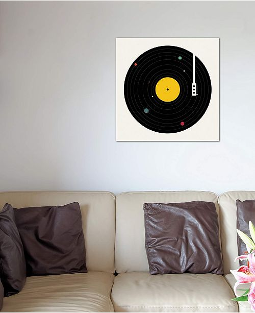 """iCanvas """"Music Everywhere"""" by Florent Bodart Gallery-Wrapped Canvas Print (26 x 26 x 0.75)"""