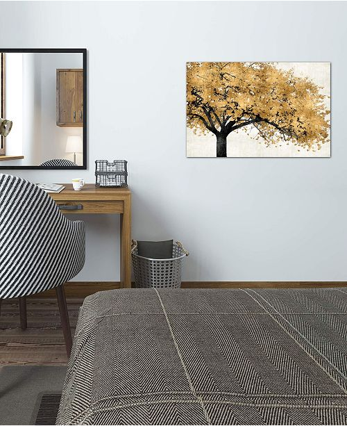 """iCanvas """"Golden Blossoms"""" by Kate Bennett Gallery-Wrapped Canvas Print (18 x 26 x 0.75)"""
