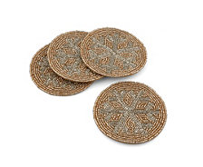 Thirstystone Beaded Snowflake Coasters Set of 4