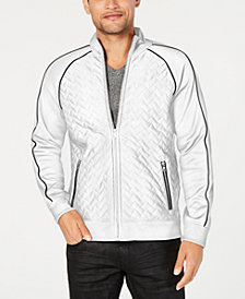 I.N.C. Men's Quilted Piped Jacket, Created for Macy's