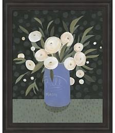 Mason Jar Bouquet I by Emma Scarvey Framed Art
