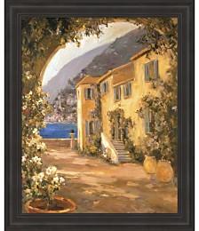 Scenic Italy VIII by Allayn Stevens Framed Art