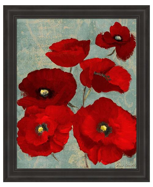 Metaverse Kindle's Poppies II by Lanie Loreth Framed Art