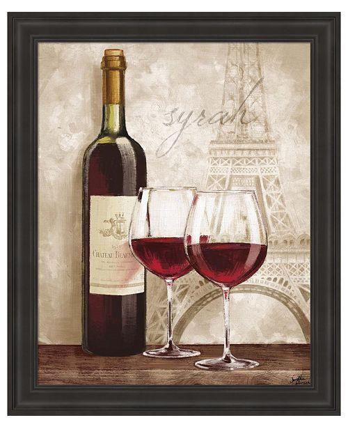 Metaverse Wine in Paris IV by Janelle Penner Framed Art