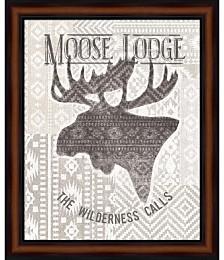Soft Lodge V by Janelle Penner Framed Art