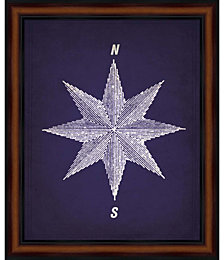 Vintage Compass 1 by Natasha Wescoat Framed Art