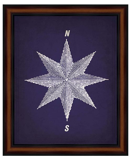 Metaverse Vintage Compass 1 by Natasha Wescoat Framed Art