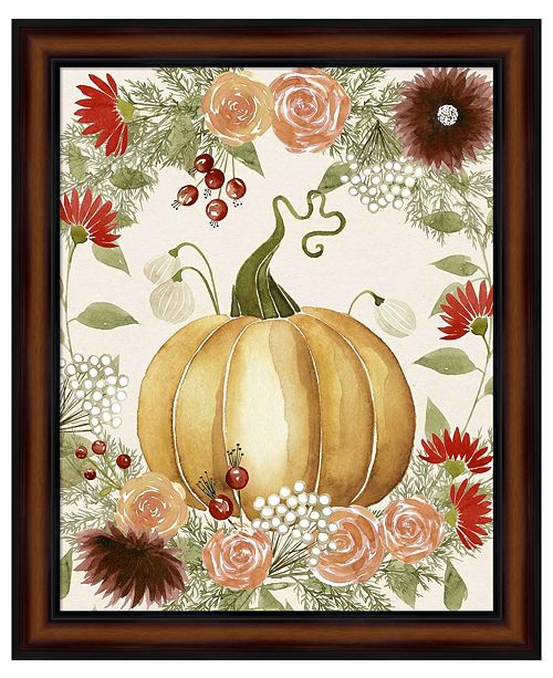 Metaverse Red Autumn I by Grace Popp Framed Art