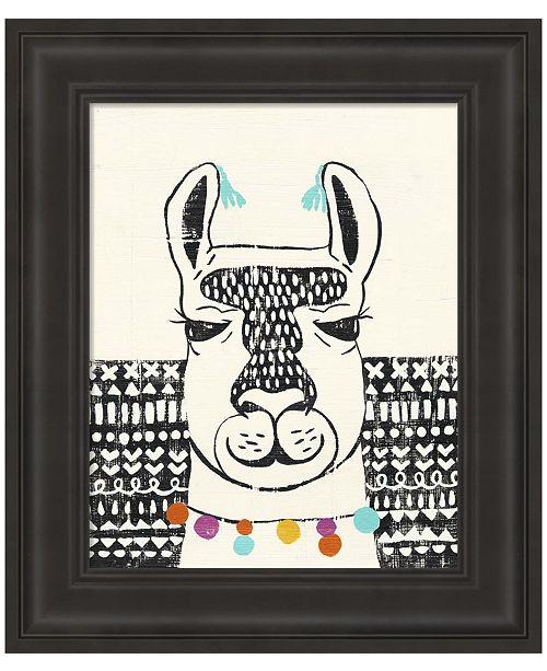 Metaverse Party Llama III by Chariklia Zarris Framed Art