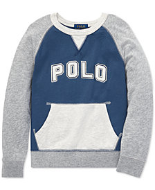 Polo Ralph Lauren Little Boys Cotton Spa Terry Sweatshirt