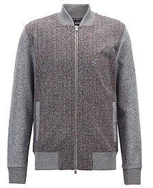 BOSS Men's Slim-Fit Full-Zip Sweatshirt