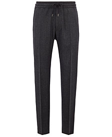 BOSS Men's Regular/Classic-Fit Cropped Trousers