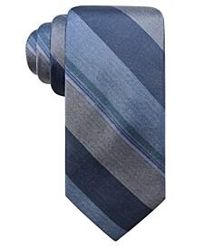 Men's Ponsay Slim Stripe Silk Tie, Created for Macy's