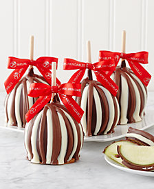 Mrs. Prindables 4-Pc. Triple Chocolate Caramel Apple Gift