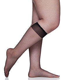 Berkshire Women's  Plus Size Ultra Sheer Knee Highs Hosiery 6460