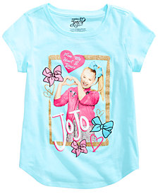 Nickelodeon Big Girls Graphic-Print JoJo Cotton T-Shirt