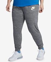2cacb8388e Nike Plus Size Sportswear Gym Vintage Heathered Pants