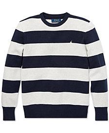 Polo Ralph Lauren Big Boys Striped Cotton Sweater