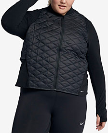 Nike Plus Size AeroLayer Running Jacket