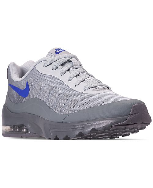 cheaper 40976 8cf4e ... Nike Men s Air Max Invigor Print Running Sneakers from Finish ...