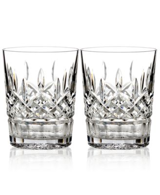 Barware, Lismore Double Old Fashioned Glasses, Set of 2