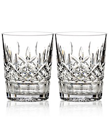 Barware, Lismore Double Old Fashioned Glasses, Pair