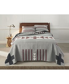 Thunder Quarrel Quilt Set- Twin