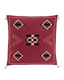 """Jicarilla Embroidered 20"""" Square Pillow"""