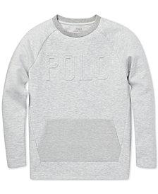 Polo Ralph Lauren Big Boys Double-Knit Graphic T-Shirt