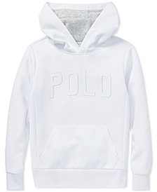 Polo Ralph Lauren Big Boys Double-Knit Graphic Hoodie