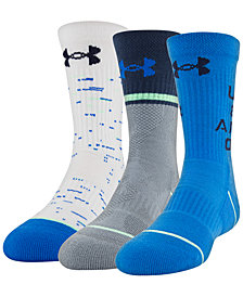 Under Armour Big Boys 3-Pk. Phenom 4.0 Crew Socks