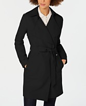40f38770792 MICHAEL Michael Kors Belted Wrap Trench Coat
