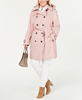 6c6ee6e5b071 MICHAEL Michael Kors Plus Size Double-Breasted Trench Coat