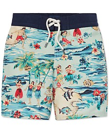 Polo Ralph Lauren Toddler Boys Sanibel Luau Swim Trunks