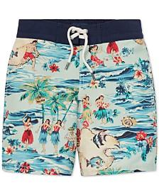 Polo Ralph Lauren Little Boys Sanibel Luau Swim Trunks
