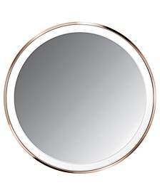 "4"" Compact Lighted Sensor Makeup Mirror"